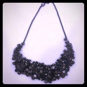Jeweled bib Necklace